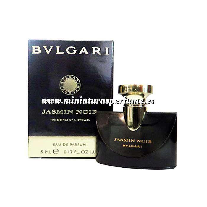 Imagen -Mini Perfumes Mujer Jasmin Noir - The Essence of a JewellerBvlgari - EDP by Bvlgari 5ml. (Últimas Unidades)