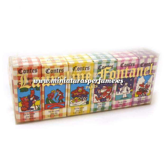 Imagen -Mini Perfumes Mujer Laureline Fontanel (Contes) Eau de toilette - caja de 6 miniaturas 6x8ml. (Ideal Coleccionistas) (Últimas Unidades)