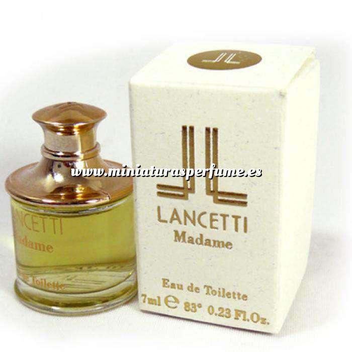 Imagen -Mini Perfumes Mujer Madame Eau de Toilette by Lancetti 7ml. (Caja pequeña) (Ideal Coleccionistas) (Últimas Unidades)