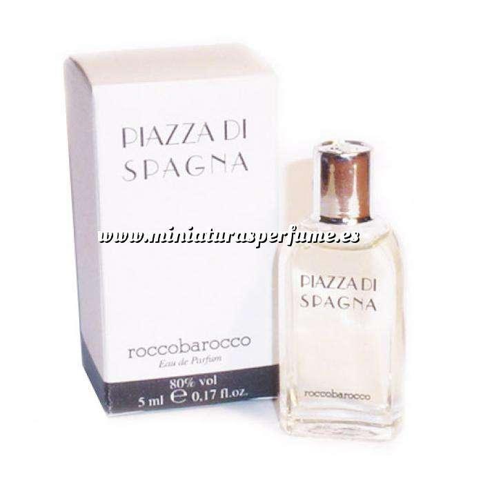 Imagen -Mini Perfumes Mujer Piazza di Spagna Eau de Parfum by Roccobarocco 5ml. (Cajas con ligeras marcas) (Últimas Unidades)