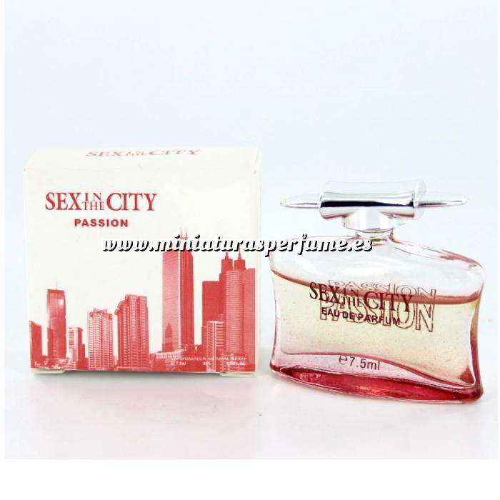 Imagen -Mini Perfumes Mujer Sex In the city - Passion Eau de Parfum 7,5ml. by InStyle (IDEAL COLECCIONISTAS) (Últimas Unidades)