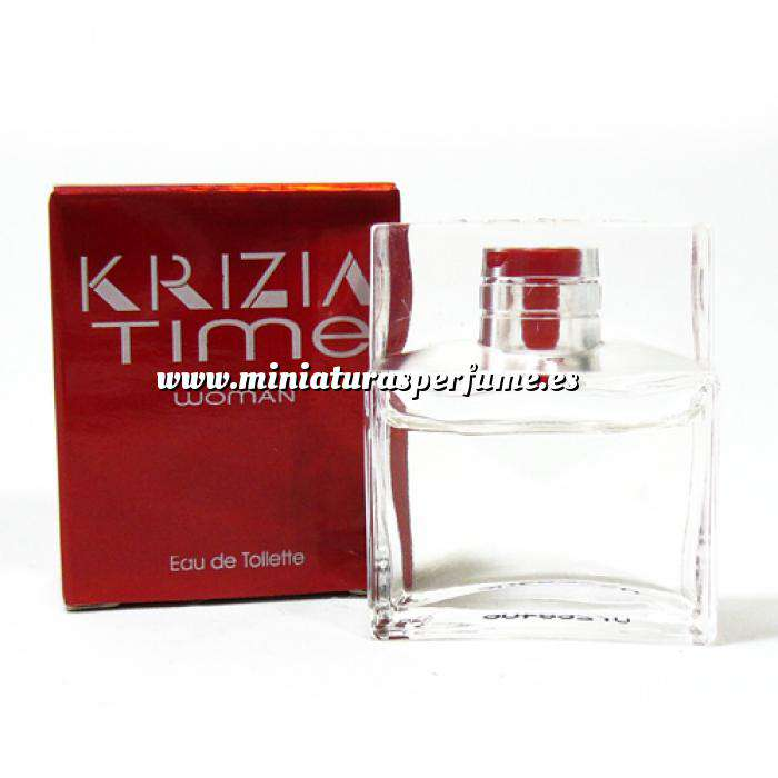 Imagen -Mini Perfumes Mujer Time Woman Eau de Toilette by Krizia 5ml. (Últimas Unidades)