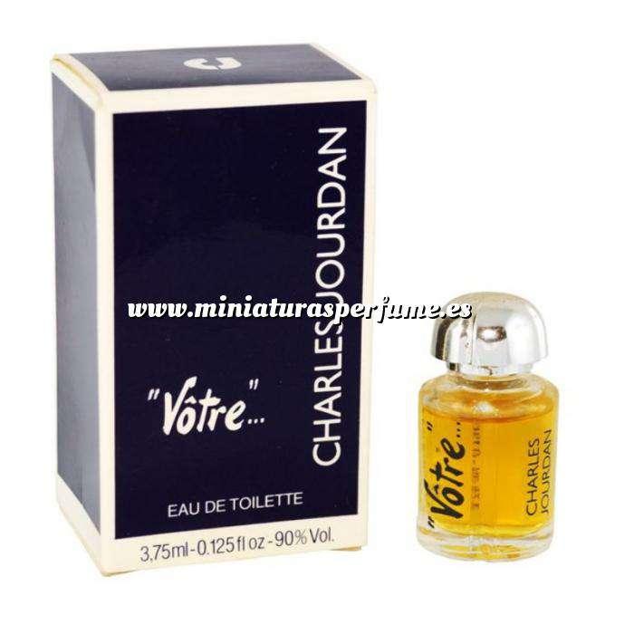 Imagen -Mini Perfumes Mujer Votre Eau de Toilette by Charles Jourdan 3.75ml. (Últimas Unidades)