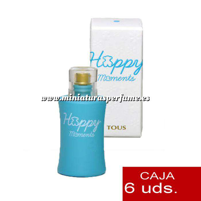 Imagen .PACKS PARA BODAS Tous Happy Moments by Tous 4.5ml. PACK 6 UNIDADES (Últimas Unidades)