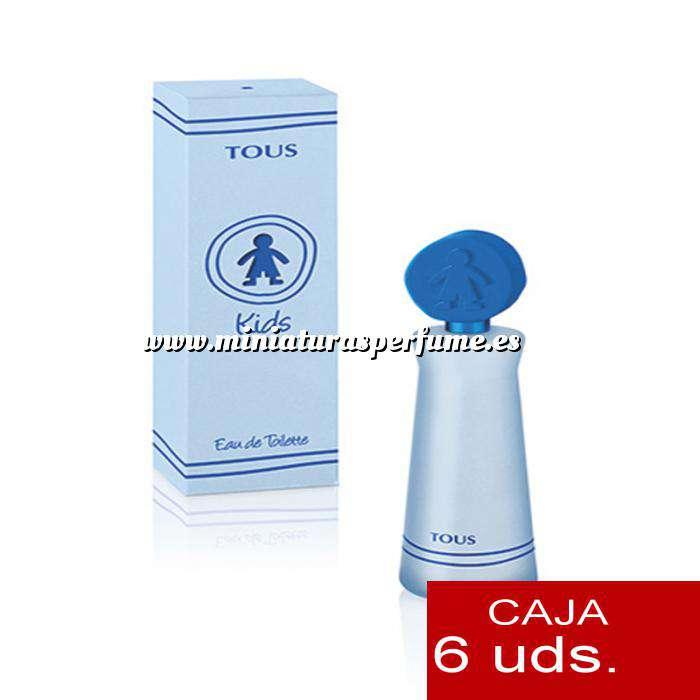 Imagen -Tous Niños Tous KIDS BOY Eau de Toilette 4 ml by Tous PACK 6 UNIDADES (Últimas Unidades)