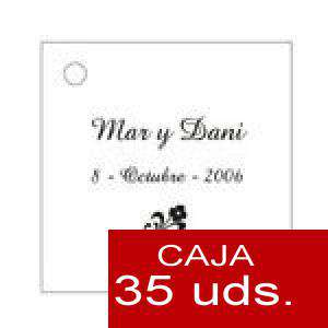 Imagen Etiquetas impresas Etiqueta Modelo E01 (Paquete de 35 etiquetas 4x4)