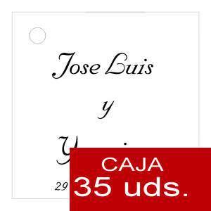 Etiquetas impresas - Etiqueta Modelo E03 (Paquete de 35 etiquetas 4x4)