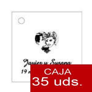 Imagen Etiquetas impresas Etiqueta Modelo E04 (Paquete de 35 etiquetas 4x4)