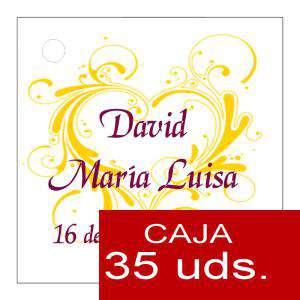 Etiquetas impresas - Etiqueta Modelo E09 (Paquete de 35 etiquetas 4x4)