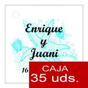 Etiquetas impresas - Etiqueta Modelo E12 (Paquete de 35 etiquetas 4x4)