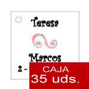 Imagen Etiquetas impresas Etiqueta Modelo F07 (Paquete de 35 etiquetas 4x4)