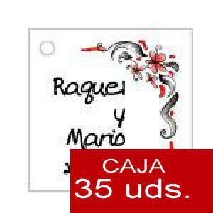 Imagen Etiquetas impresas Etiqueta Modelo F08 (Paquete de 35 etiquetas 4x4)