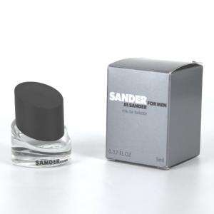 Mini Perfumes Hombre - Sander for Men Eau de Toilette by Jil Sander 5ml. (Últimas Unidades)