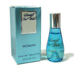 Mini Perfumes Mujer - Cool Water Woman Eau de Toilette by Davidoff 5ml. (Últimas unidades)