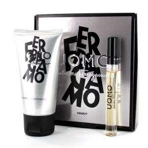 Mini Perfumes Mujer - Ferragamo Uomo MINIKIT (Eau de Toilette más Shampoo & Shower Gel) by Salvatore Ferragamo (Últimas Unidades)