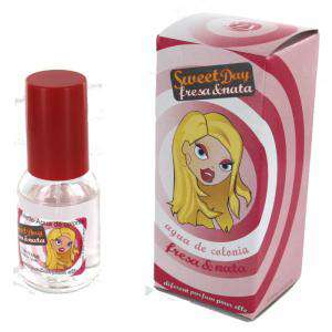 Mini Perfumes Mujer - Fragancia dulce Sweet Day Eau de toilette - Fresa y Nata 20ml. (Últimas Unidades)