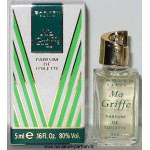 Mini Perfumes Mujer - Ma Griffe Parfum de Toiltette by Carven 5ml. (Ideal Coleccionistas) (Últimas Unidades)