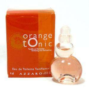 Mini Perfumes Mujer - Orange Tonic Eau de Toilette by Azzaro 4ml. (Especial para boda) (Últimas Unidades)