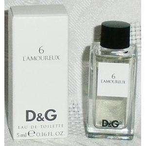 -Mini Perfumes Hombre - 6 L Amoureux Eau de Toilette by Dolce & Gabbana 5ml. (IDEAL COLECCIONISTAS) (Últimas Unidades)