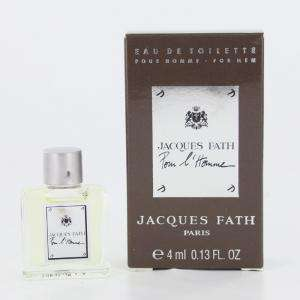 -Mini Perfumes Hombre - Jacques Fath Pour L Homme Eau de Toilette by Jacques Fath Paris 4ml. (Últimas Unidades)