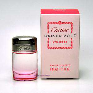-Mini Perfumes Mujer - Baiser Volé Lys Rose EDP by Cartier 6ml. (Últimas unidades)