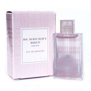 -Mini Perfumes Mujer - Brit Sheer Eau de Toilette by Burberry 4.5ml. (Últimas Unidades)