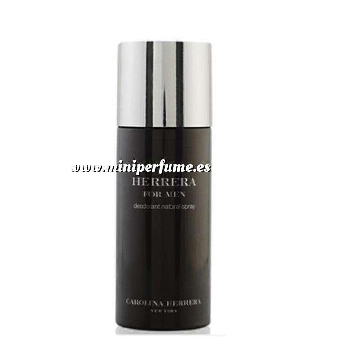 Imagen Cuidado Personal Herrera for MEN: Desodorante spray CAROLINA HERRERA 150 ml (Últimas Unidades)