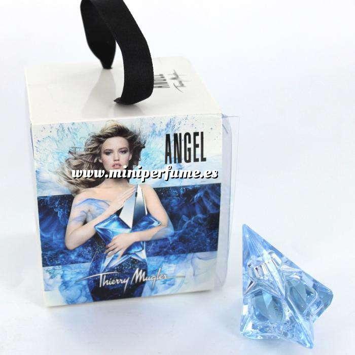 Imagen EDICIONES ESPECIALES Angel Eau de Parfum by Thierry Mugler 5ml. (EDICIÓN ESPECIAL Caja cuadrada transparente) (Últimas Unidades)