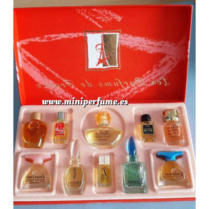 Imagen EDICIONES ESPECIALES Charrier Parfums - Juego de regalo de 10 perfumes Les Parfums de France (Últimas Unidades)