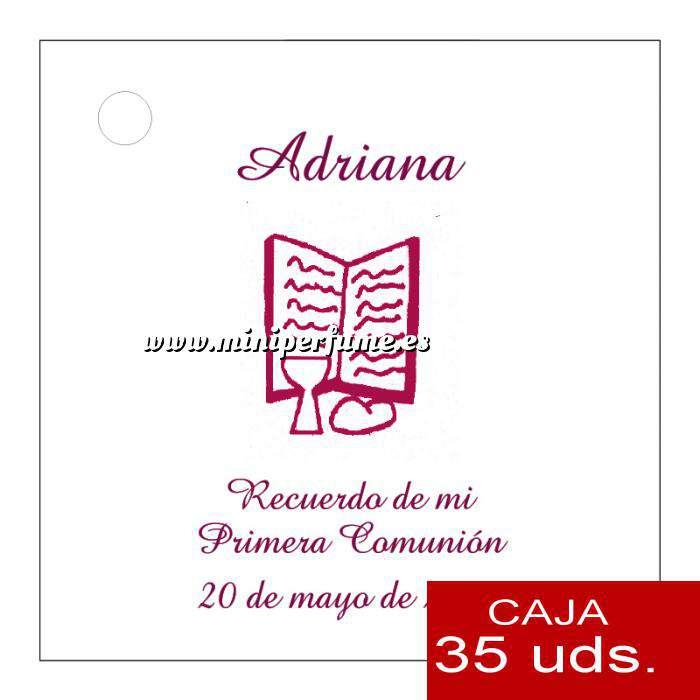 Imagen Etiquetas impresas Etiqueta Modelo C18 (Paquete de 35 etiquetas 4x4)