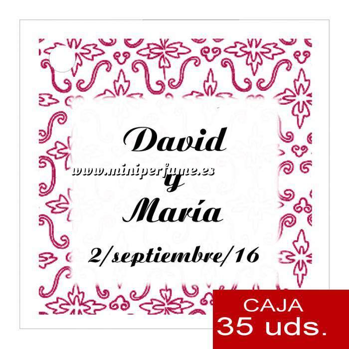 Imagen Etiquetas impresas Etiqueta Modelo D12 (Paquete de 35 etiquetas 4x4)