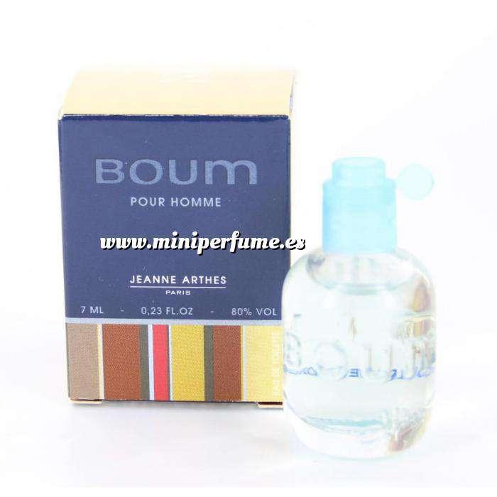 Imagen Mini Perfumes Hombre Boum Pour Homme by Jeanne Arthes 7ml. (Últimas unidades)