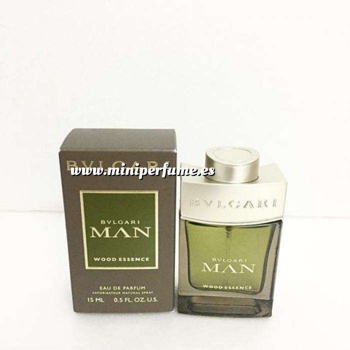 Imagen Mini Perfumes Hombre Bvlgari Man Wood Essence EDP VAPO by Bvlgari 15ml. (Últimas Unidades)