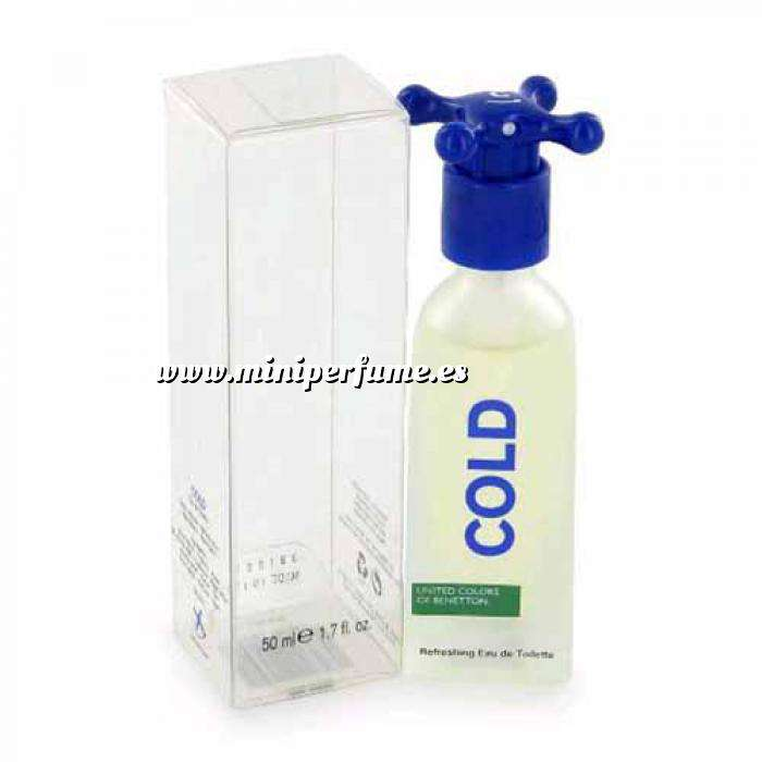 Imagen Mini Perfumes Hombre Cold Refreshing Eau de Toilette by Benetton 5.5ml. (Ideal Coleccionistas) (Últimas Unidades)