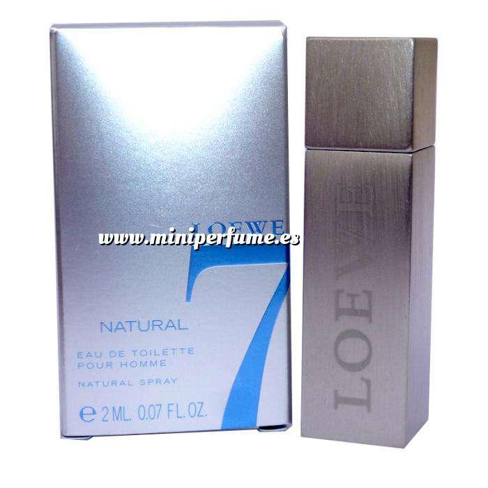 Imagen Mini Perfumes Hombre Loewe 7 Natural by Loewe - CAJA GRIS PLATA (IDEAL COLECCIONISTAS) (Últimas Unidades)