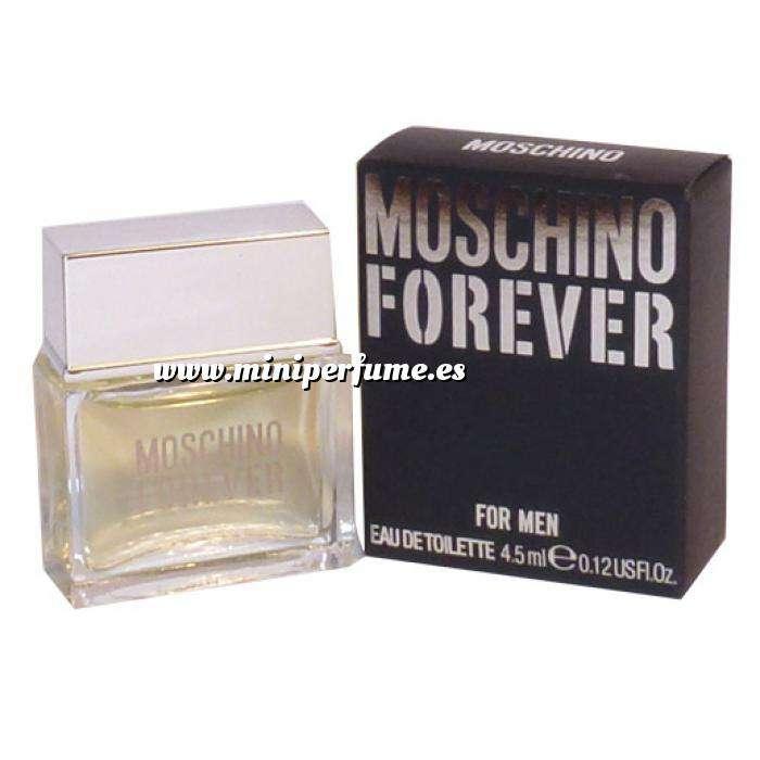 Imagen Mini Perfumes Hombre Moschino Forever Eau de Toilette para Hombre by Moschino 4,5ml. (Últimas Unidades)