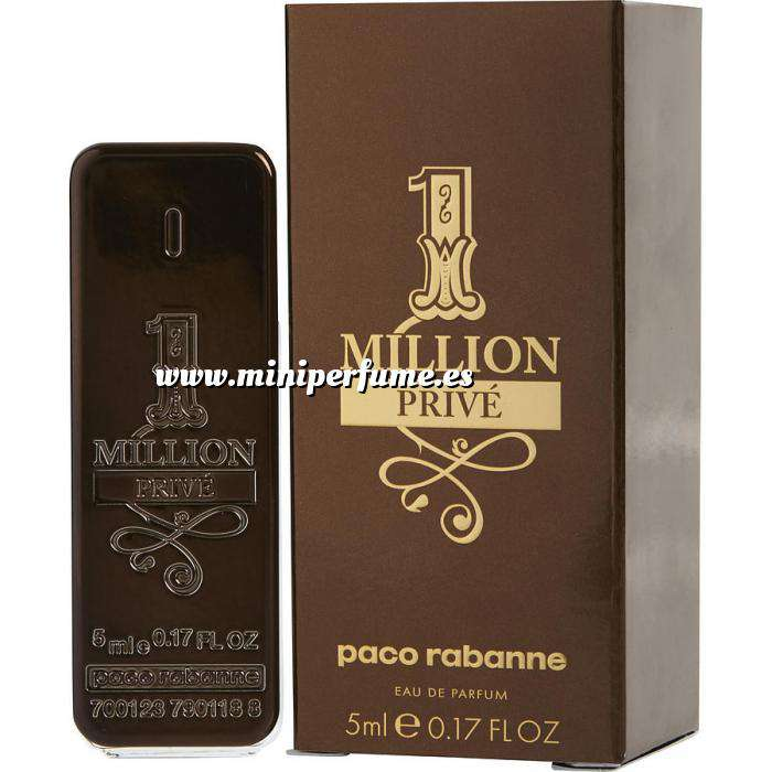 Imagen Mini Perfumes Hombre One Million Prive EDP by Paco Rabanne 5ml. (Últimas Unidades)