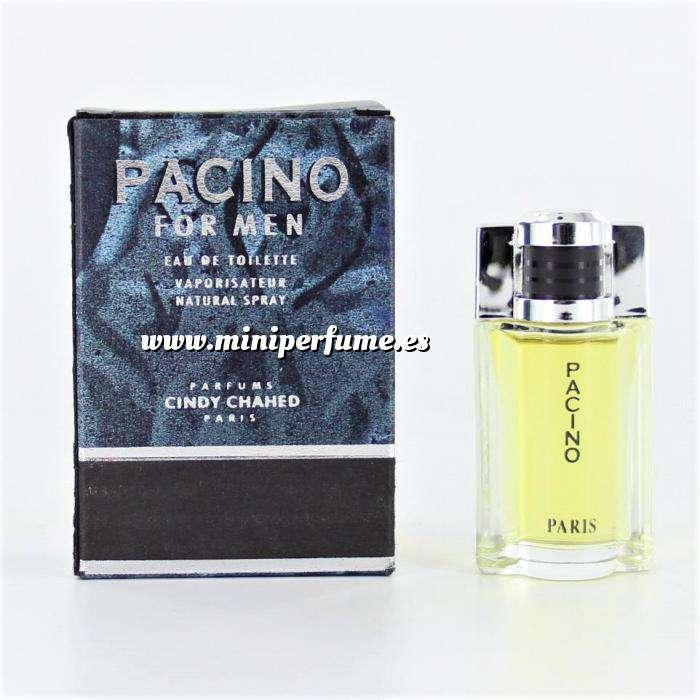 Imagen Mini Perfumes Hombre Pacino for men Eau de Toilette by Cindy Chahed 5ml. (Últimas Unidades)