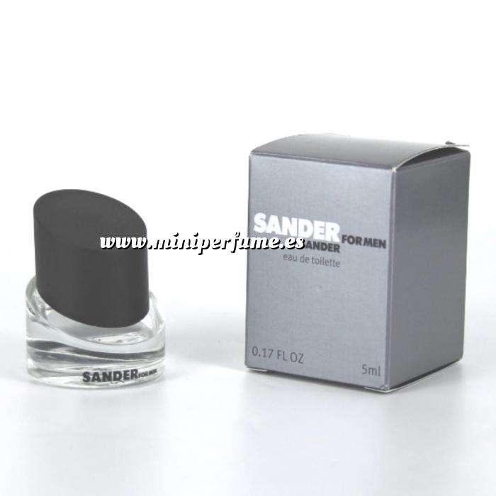 Imagen Mini Perfumes Hombre Sander for Men Eau de Toilette by Jil Sander 5ml. (Últimas Unidades)