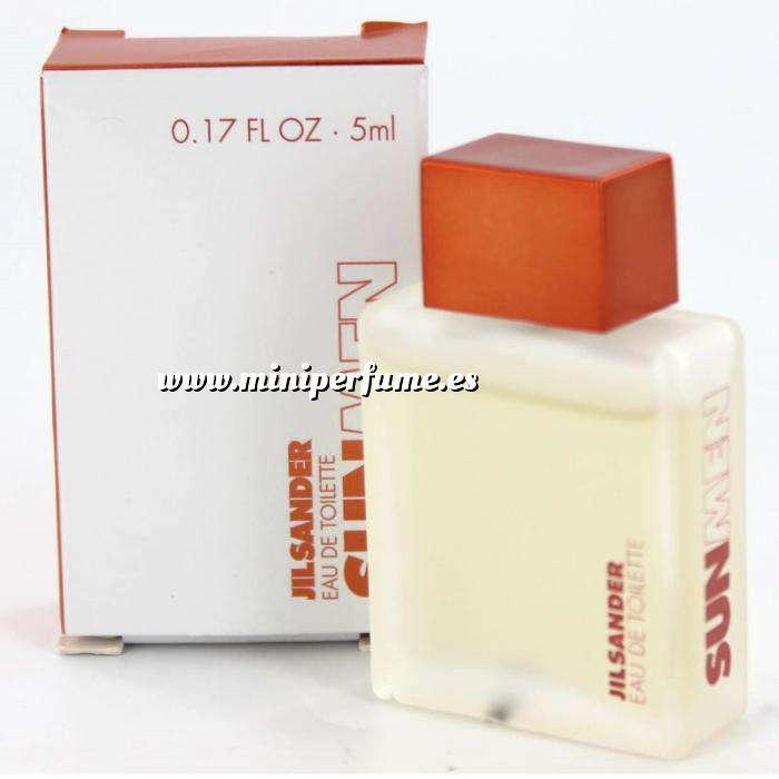 Imagen Mini Perfumes Hombre Sun Men Eau de Toilette by Jil Sander 5ml. (Últimas Unidades)