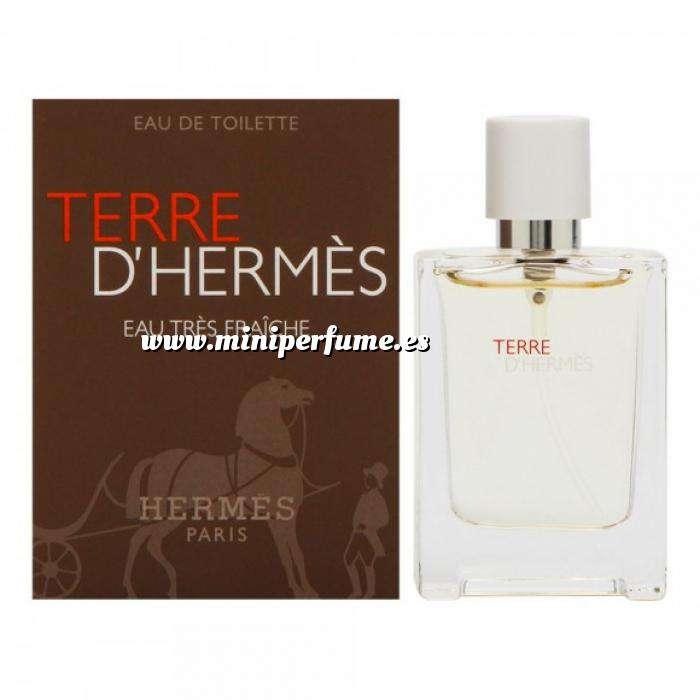 Imagen Mini Perfumes Hombre Terre D´ Hermes Eau Très Fraiche Eau de Toilette by Hermes 12,5ml. (IDEAL COLECCIONISTAS)