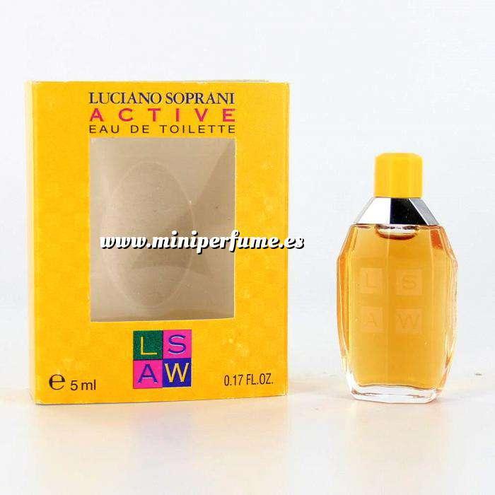 Imagen Mini Perfumes Mujer Active Eau de Toilette by Luciano Soprani 5ml. (Últimas Unidades)