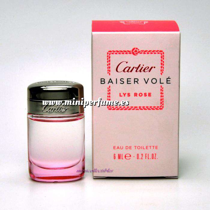 Imagen Mini Perfumes Mujer Baiser Volé Lys Rose EDP by Cartier 6ml. (Últimas unidades)