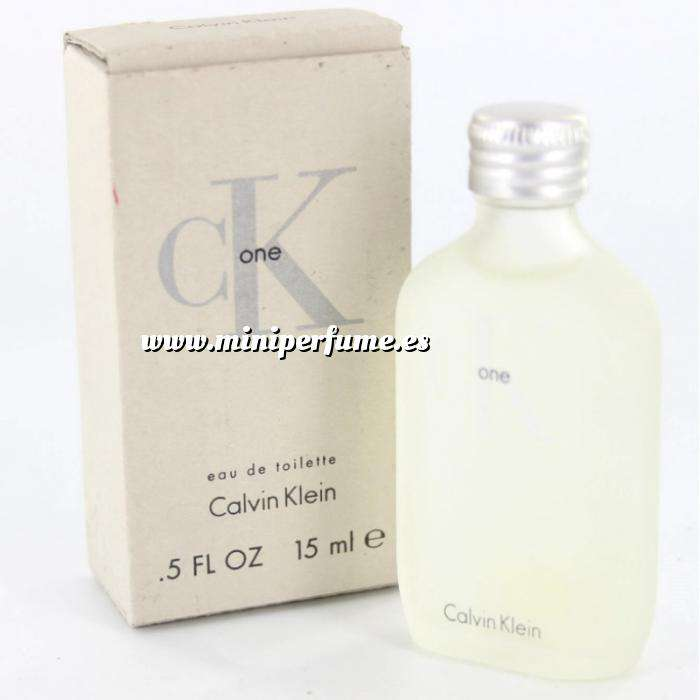 Imagen Mini Perfumes Mujer CK One Eau de Toilette by Calvin Klein 15ml. (Últimas Unidades)