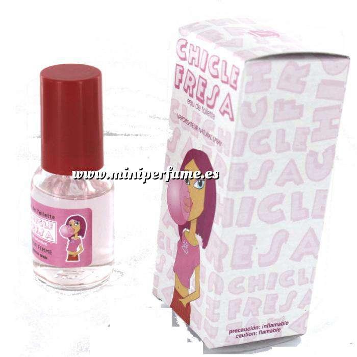 Imagen Mini Perfumes Mujer Fragancia Dulce Eau de toilette - Chicle Fresa 20ml. (Últimas Unidades)