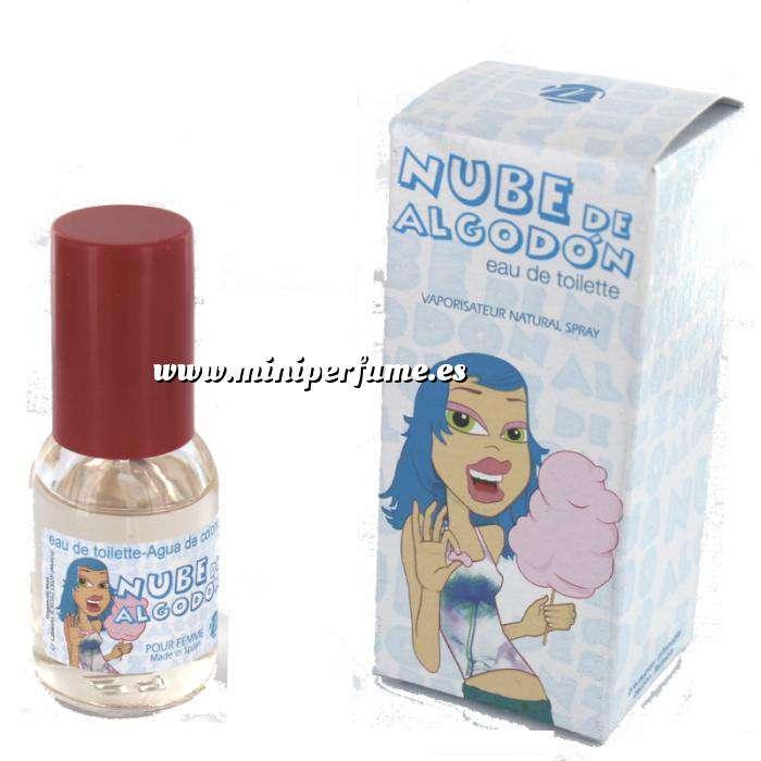 Imagen Mini Perfumes Mujer Fragancia Dulce Eau de toilette - Nube de Algodón 20ml. (Últimas Unidades)