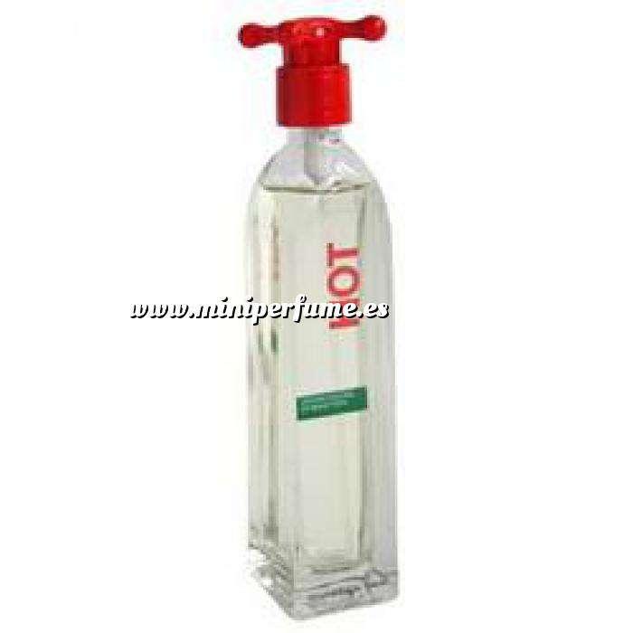 Imagen Mini Perfumes Mujer Hot Eau de Toilette For Women by Benetton 4ml. (Ideal Coleccionistas) (Últimas Unidades)
