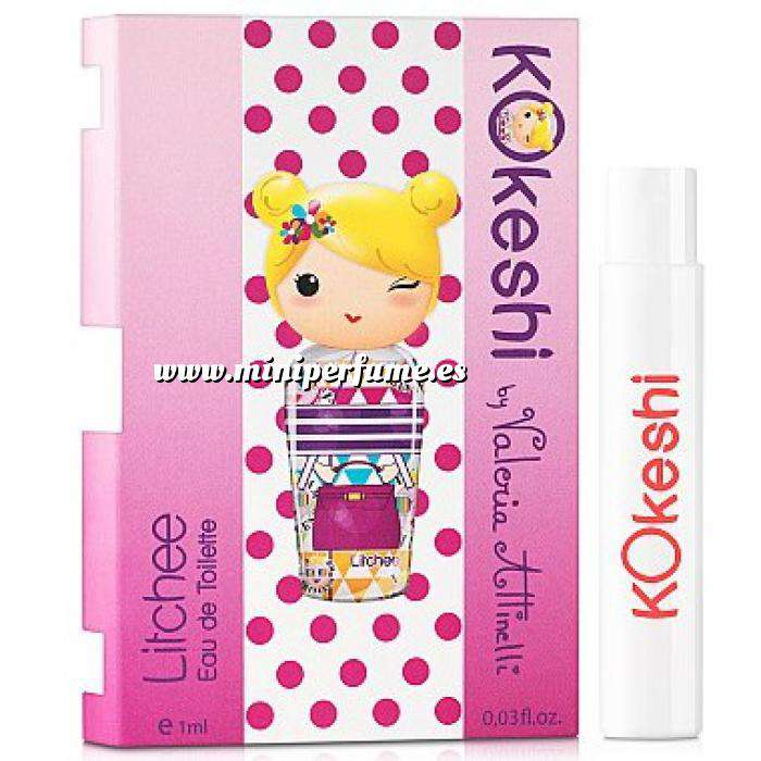 Imagen Mini Perfumes Mujer Kokeshi LITCHEE EDT by Valeria Attinelli 1,2ml. (Últimas Unidades)