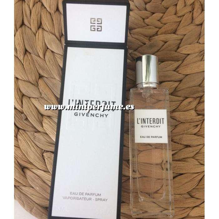 Imagen Mini Perfumes Mujer L Interdit EAU VAPO 15ml by Givenchy Paris (Últimas Unidades)