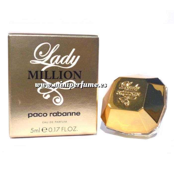 Imagen Mini Perfumes Mujer Lady Million Eau de Parfum by Paco Rabanne 5ml. (Últimas Unidades)